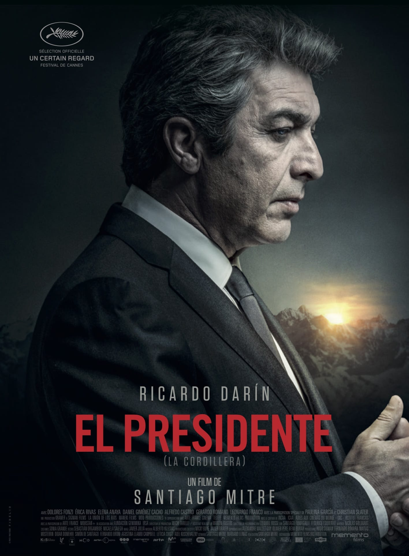 El Presidente Santiago Mitre affiche