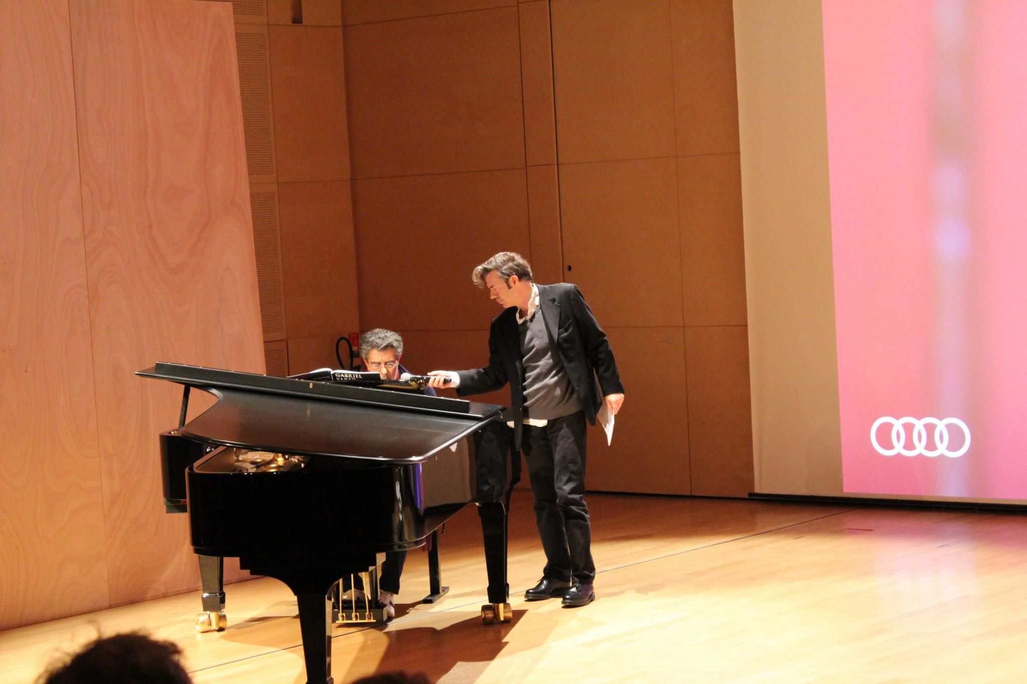 Gabriel Yared Philharmonie Rencontre autour d'un piano