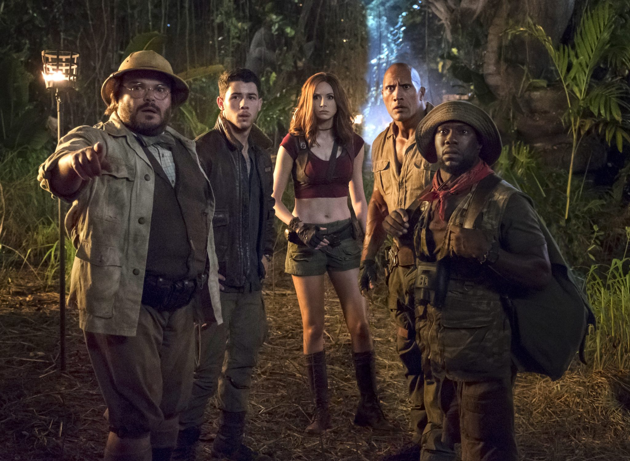Jumanji, Bienvenue dans le Jungle photo groupe