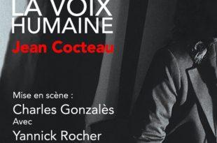La Voix Humaine Charles Gonzalès affiche