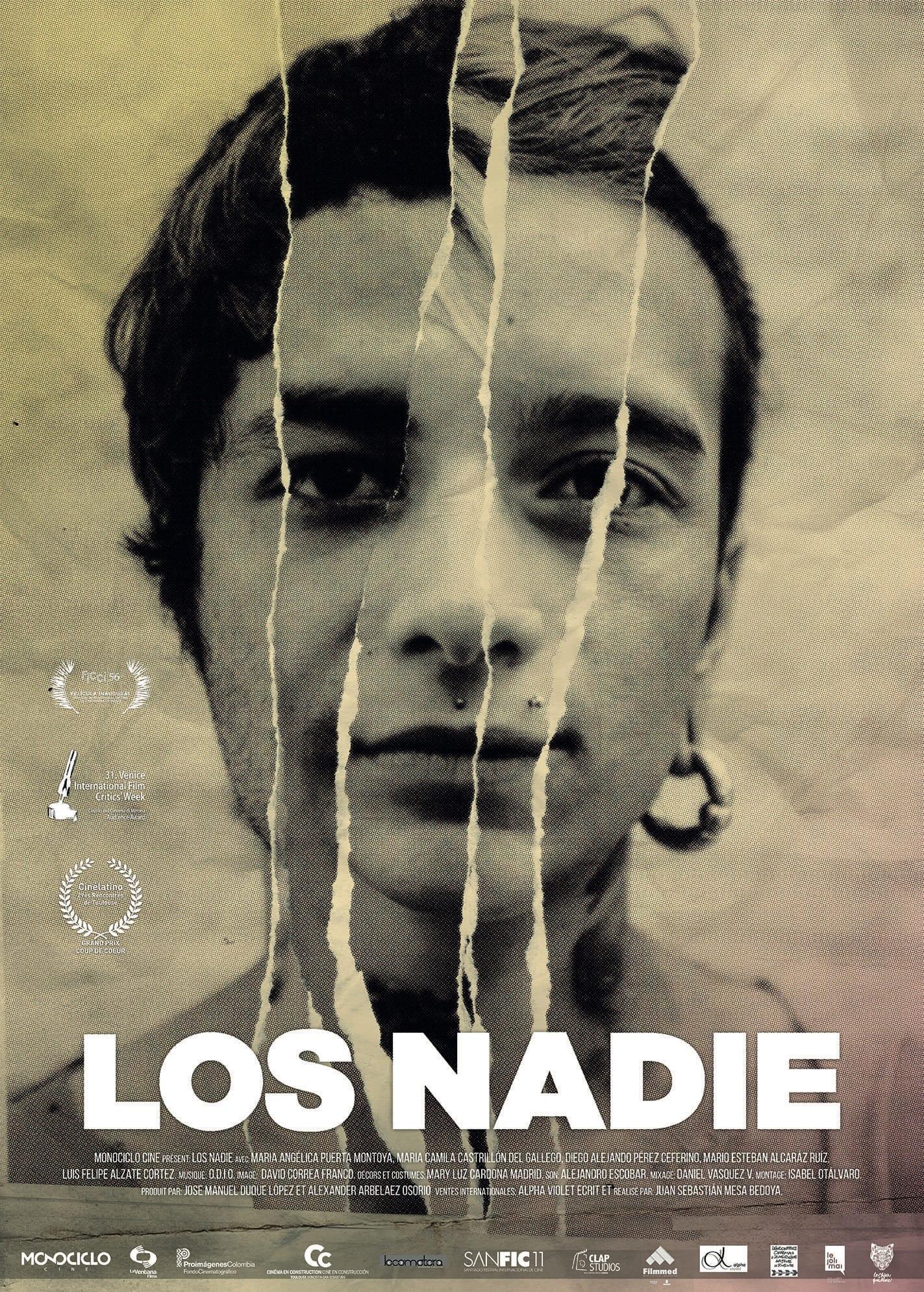 LOS NADIE Juan Sebastian Mesa affiche