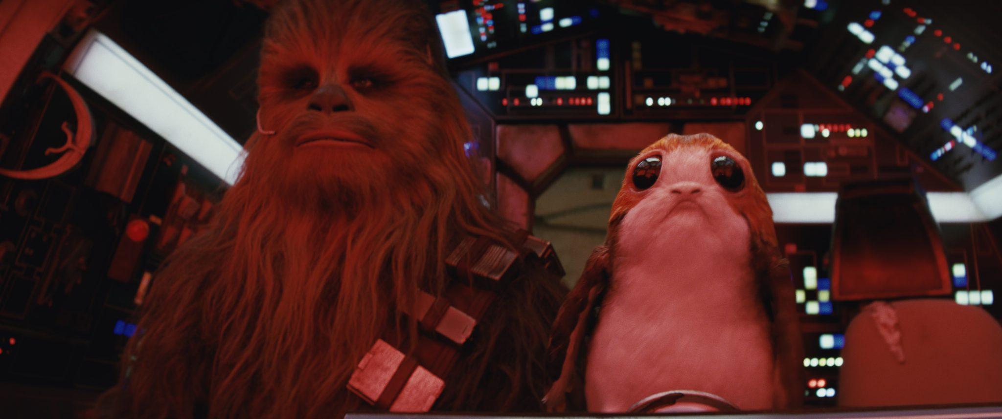 Star Wars : Les Derniers Jedi Porgs