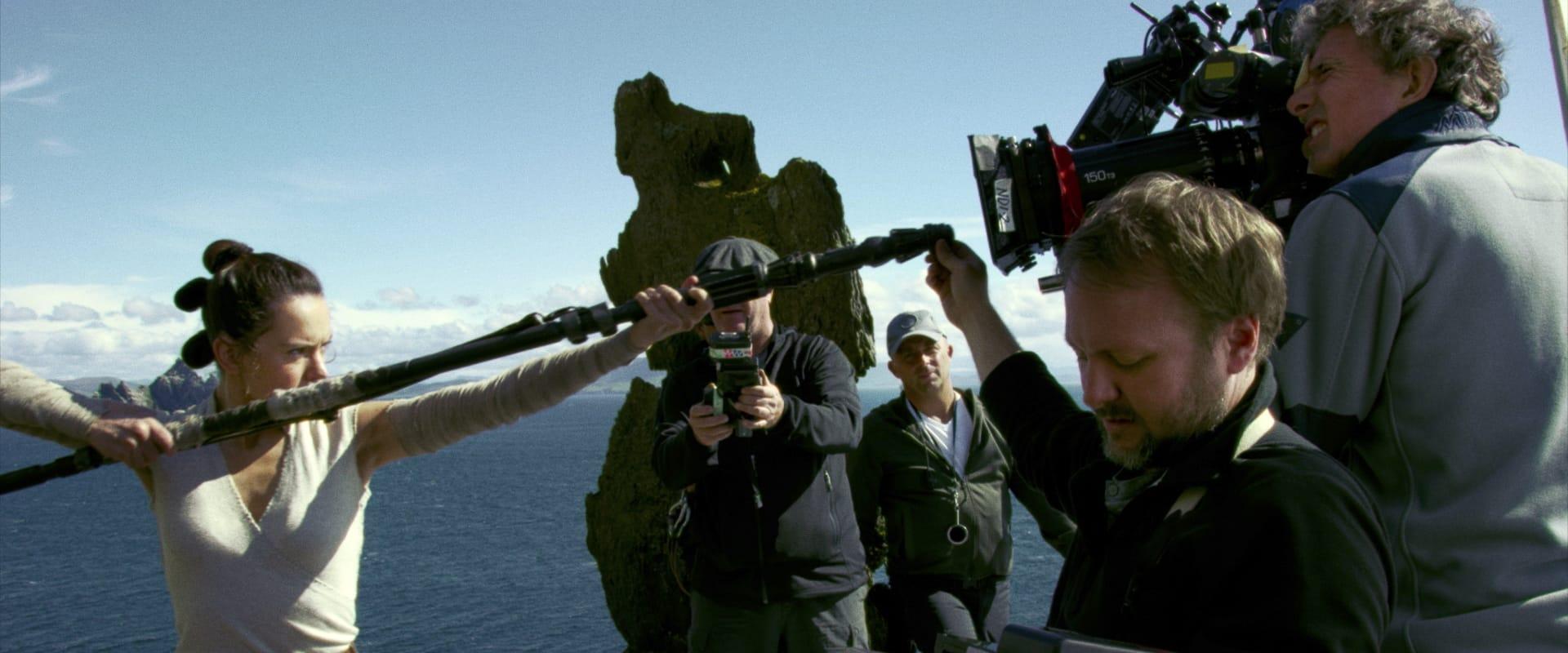 STAR WARS LES DERNIERS JEDI Rian Johnson image tournage 04