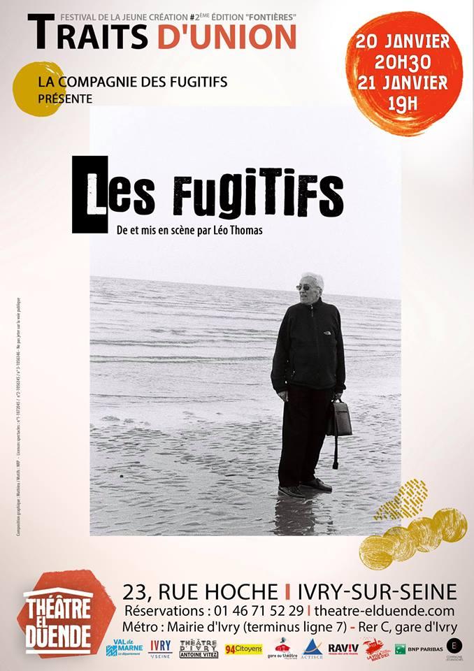 Traits d'union 2018 image Les fugitifs Compagnie des fugitifs