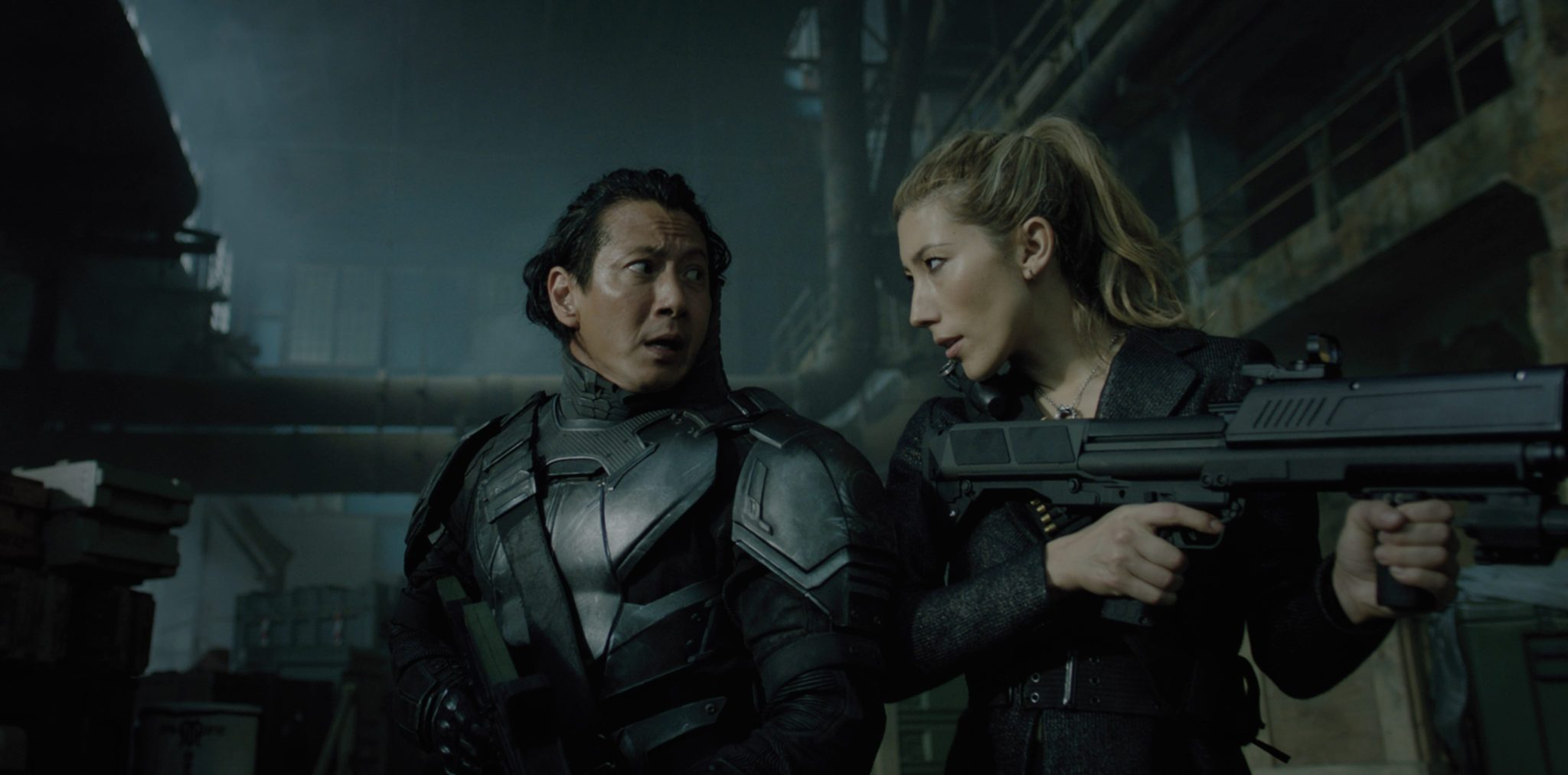 Altered Carbon saison 1 image Will Yun Lee, Dichen Lachman