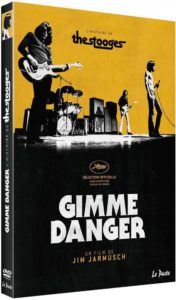 Gimme Danger Jim Jarmusch image pochette DVD