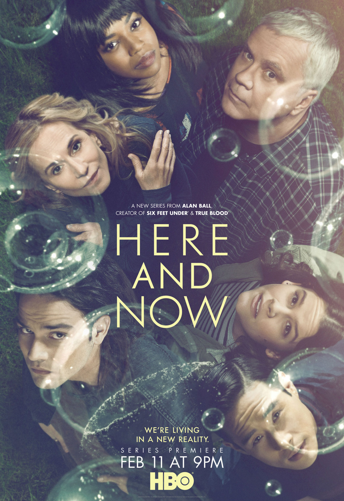 Here and Now saison 1 Alan Ball affiche