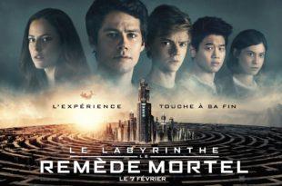 Le Labyrinthe Le remède mortel Wes Ball affiche
