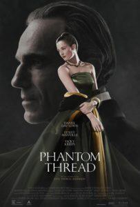 Phantom Thread affiche film