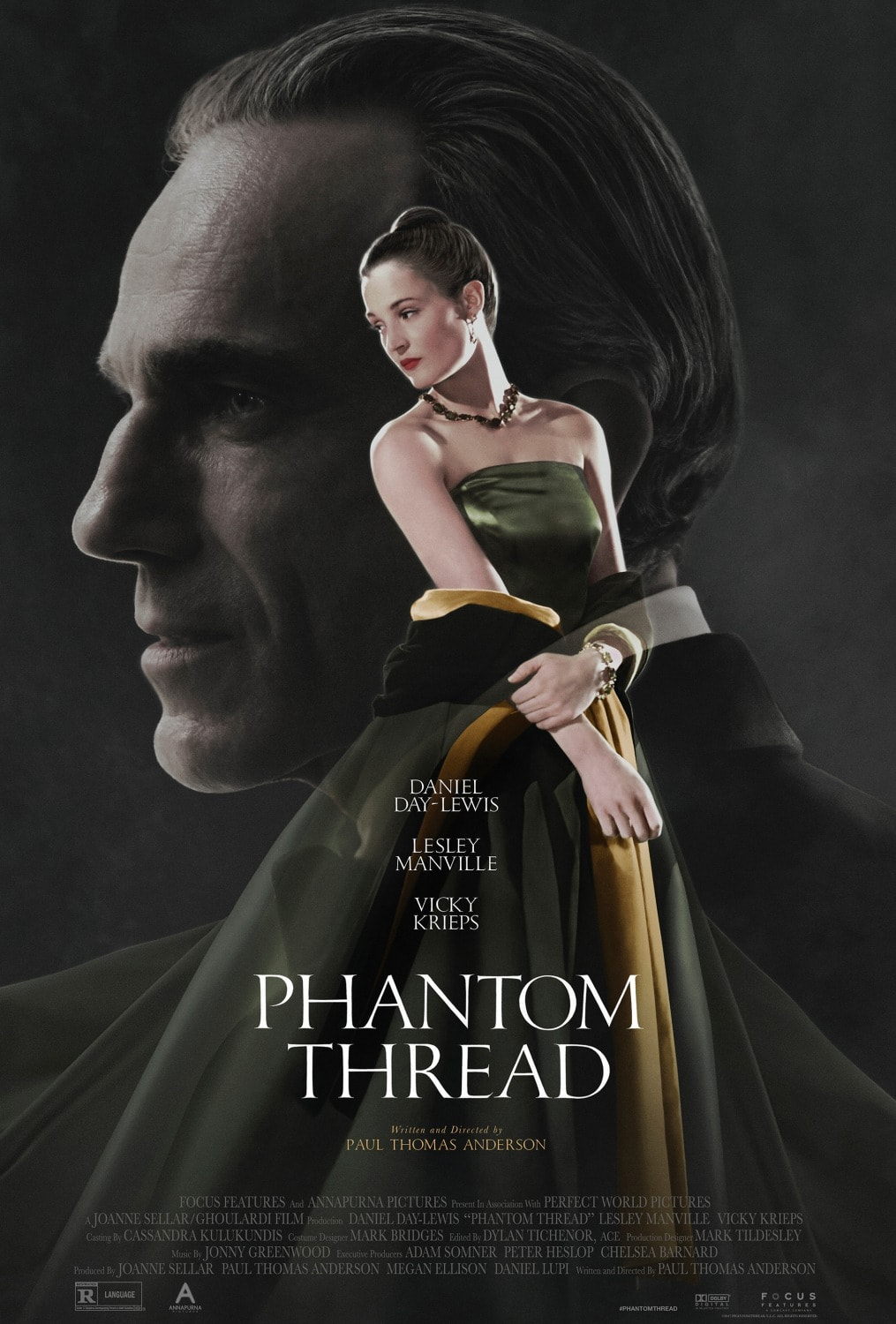 Phantom Thread affiche film