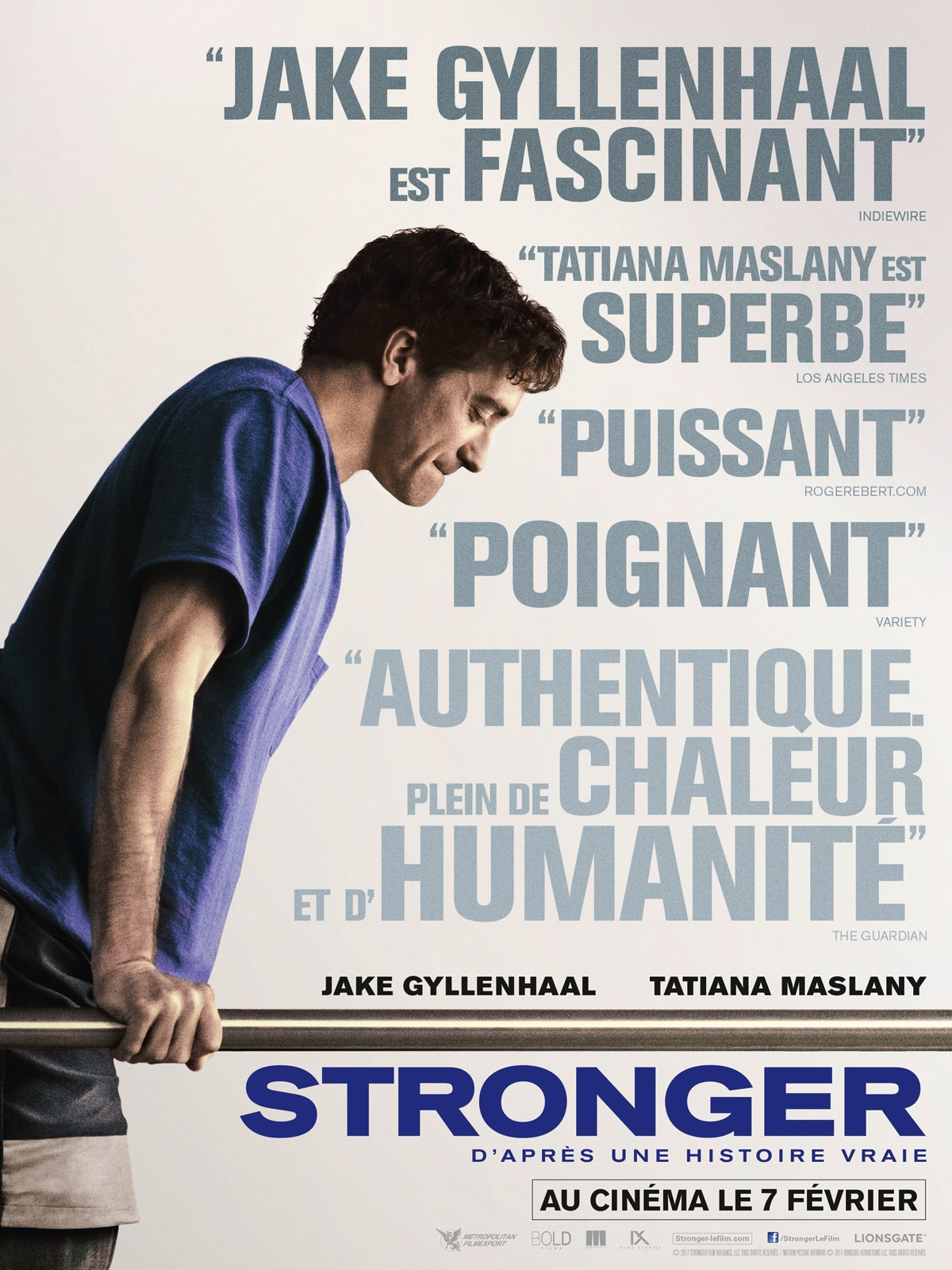Stronger affiche film