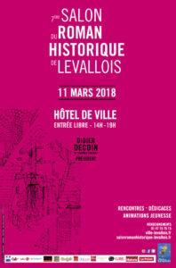 Affiche Salon du Roman Historique 2018