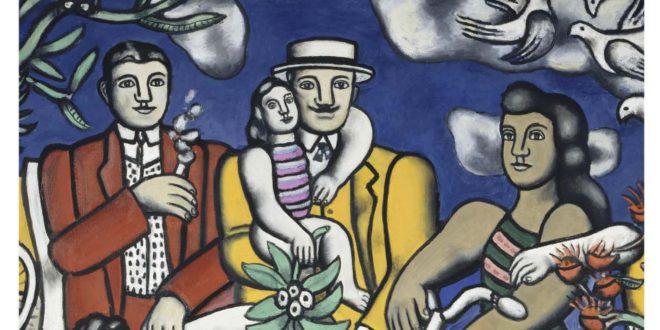Exposition Fernand Léger BOZAR 2018 affiche