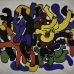 Exposition Fernand Léger BOZAR 2018 image Grands plongeurs noirs