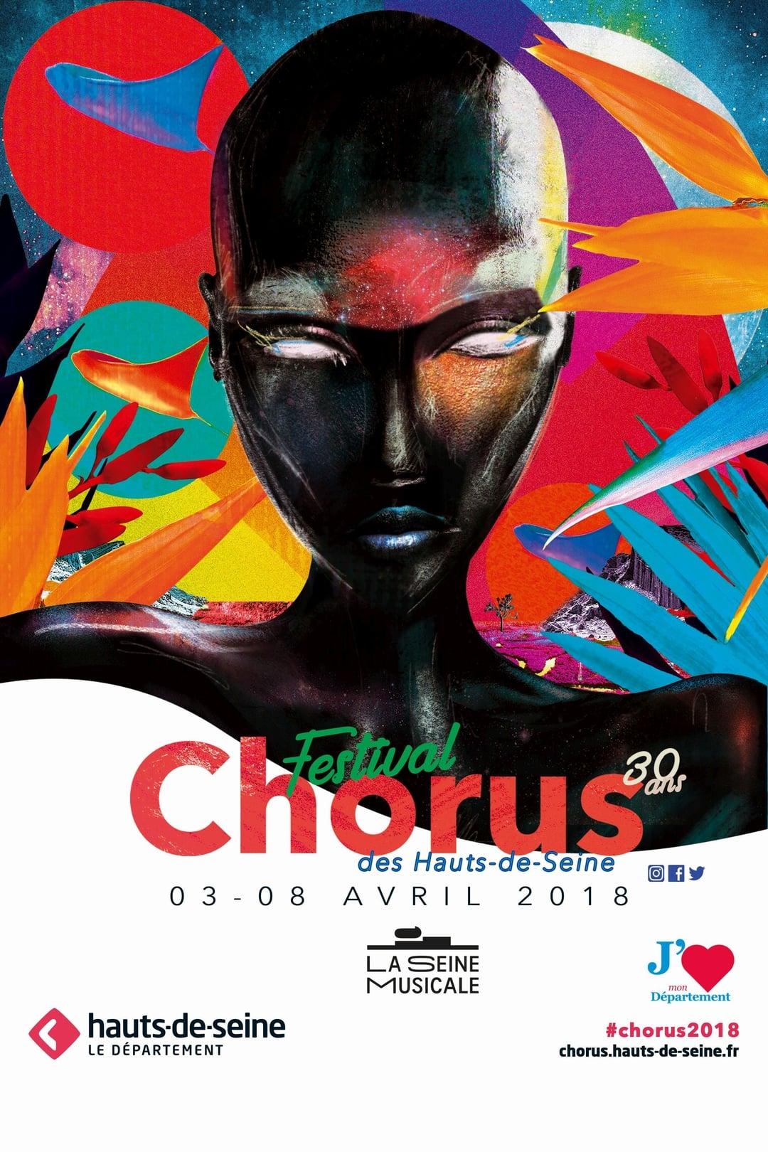 Festival Chorus des Hauts-de-Seine 2018 affiche