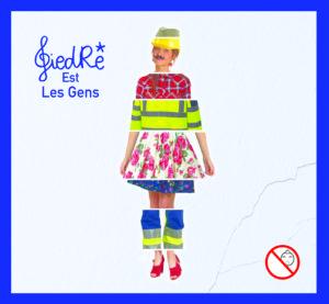 GiedRé image pochette album GiedRé Est Les Gens