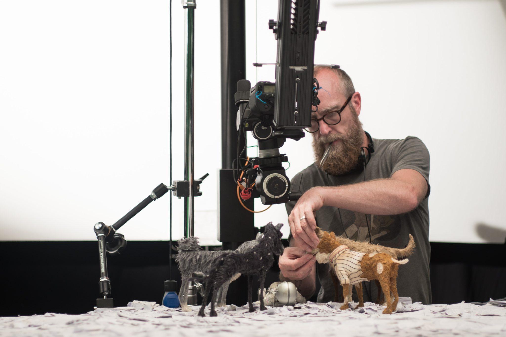 L'Île aux chiens de Wes Anderson image tournage-1