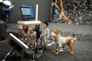 L'Île aux chiens de Wes Anderson image tournage-3