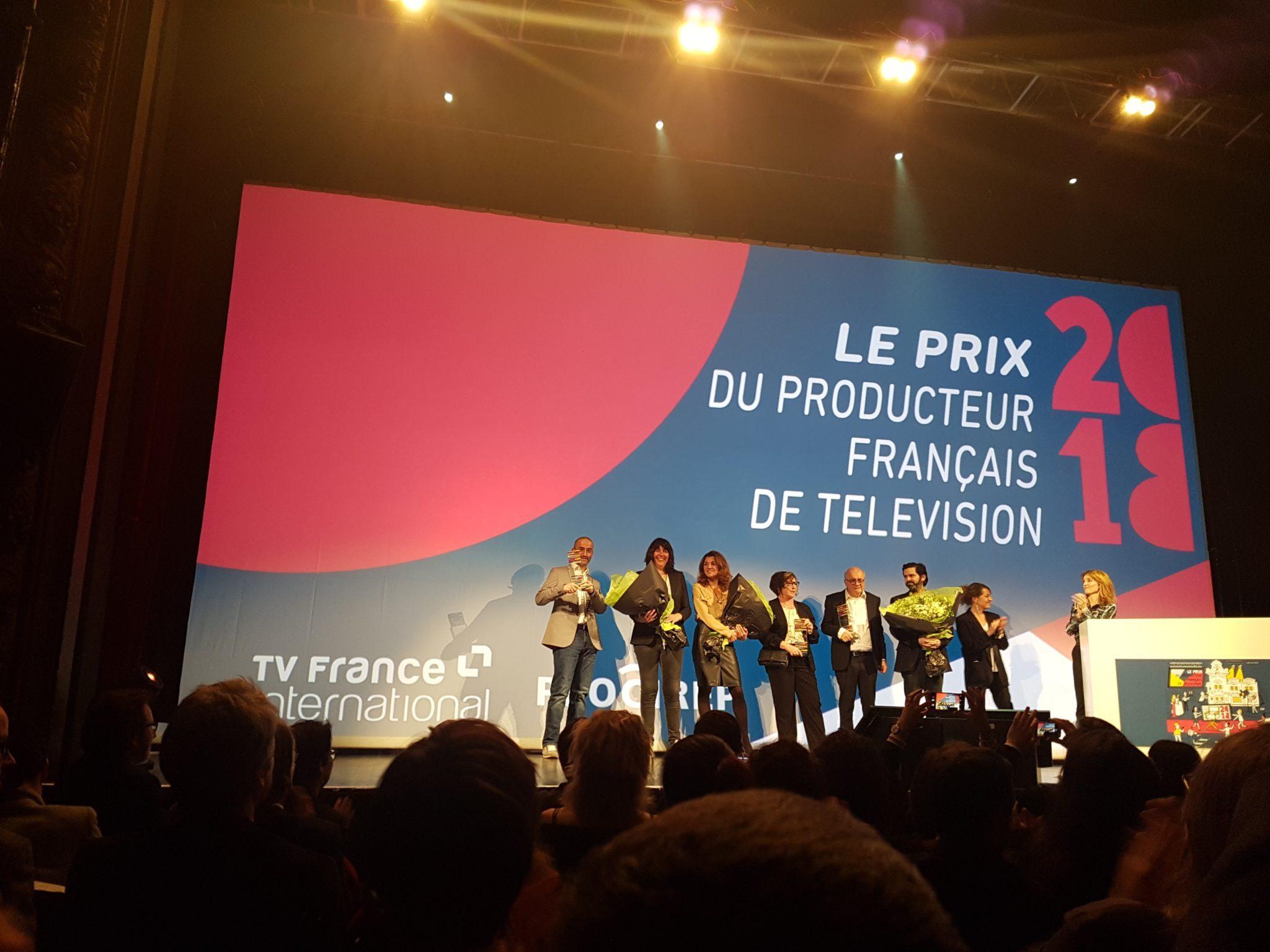 Prix du producteur français de télévision 2018 image