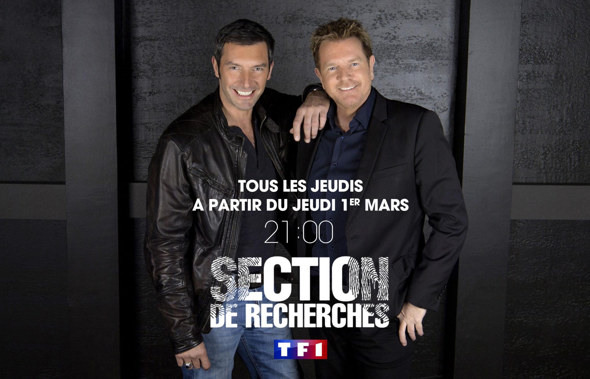 SECTION DE RECHERCHES SAISON 12 affiche
