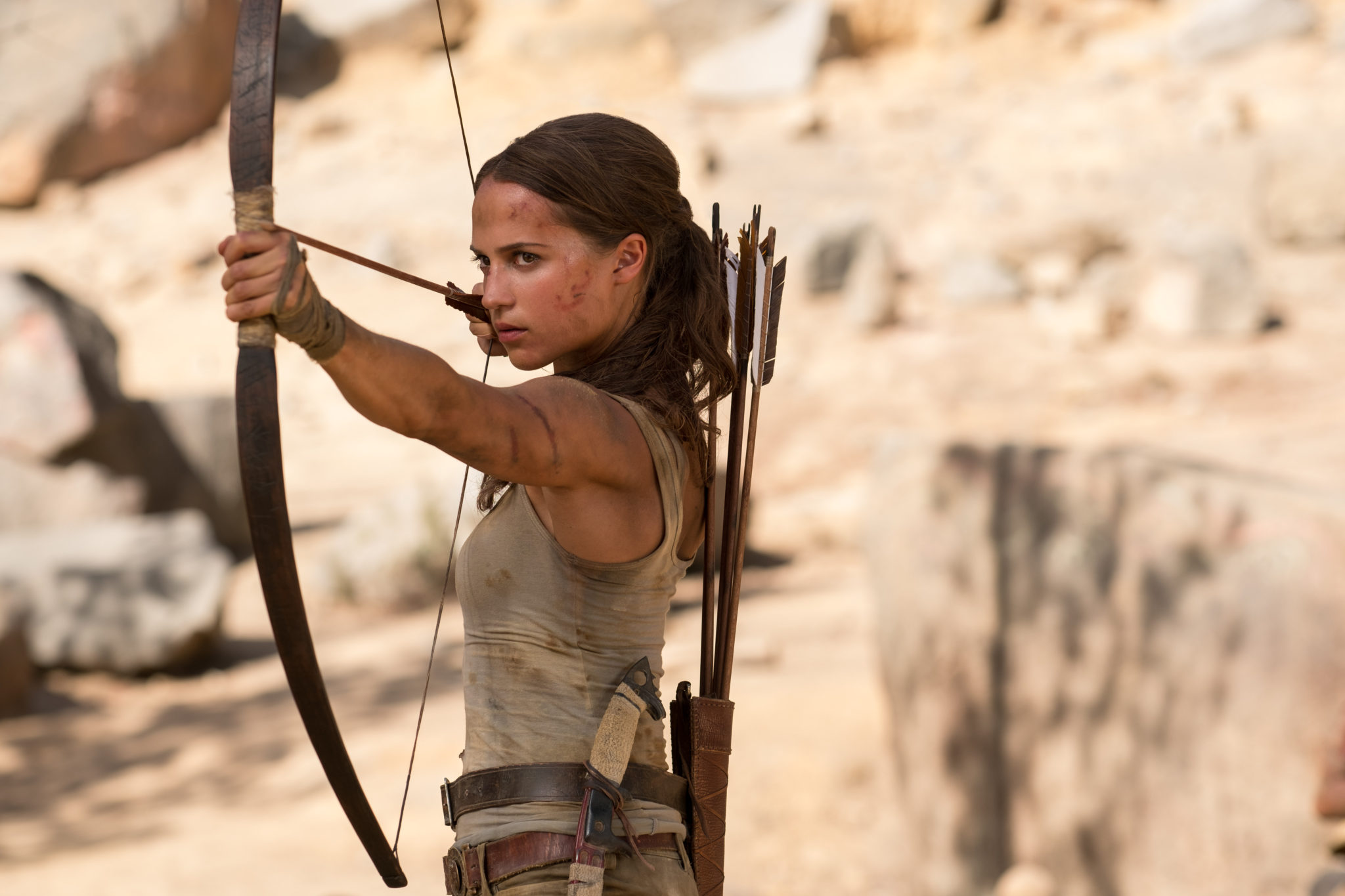 Tomb Raider photo film