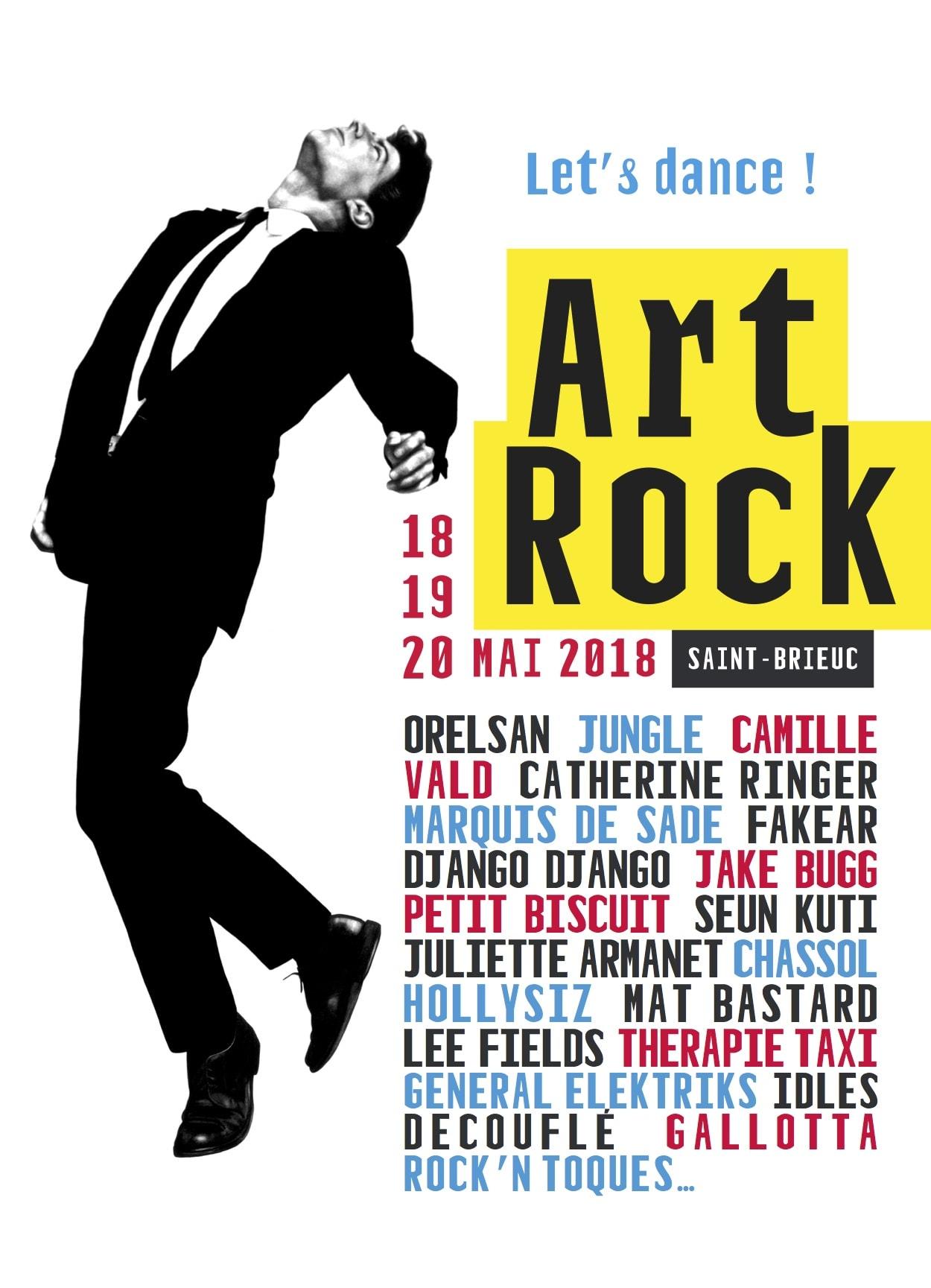 Art Rock 2018 affiche