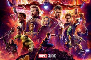 Avengers Infinity War de Joe Russo et Anthony Russo affiche