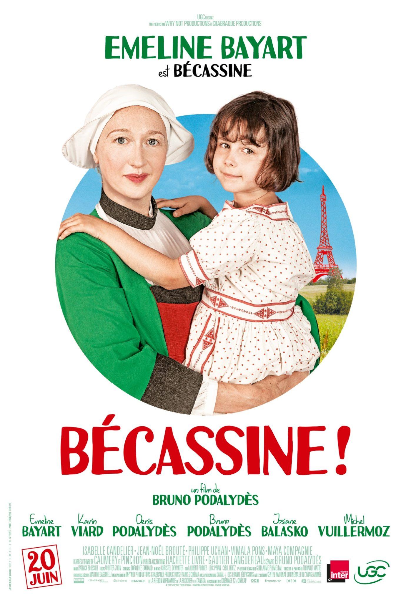 Bécassine ! de Bruno Podalydès affiche personnage de Emeline Bayart