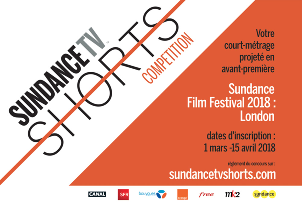 Concours de courts-métrages SundanceTV édition 2018 affiche