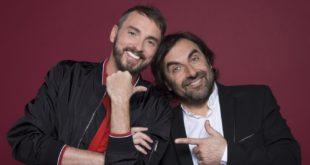 CONCOURS EUROVISION DE LA CHANSON 2018 image André Manoukian et Christophe Willem