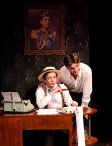 EN ATTENDANT BOJANGLES par Victoire BERGER PERRIN image Père et fils (c) Evelyne Desaux