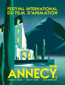 Festival d'Annecy 2018 affiche