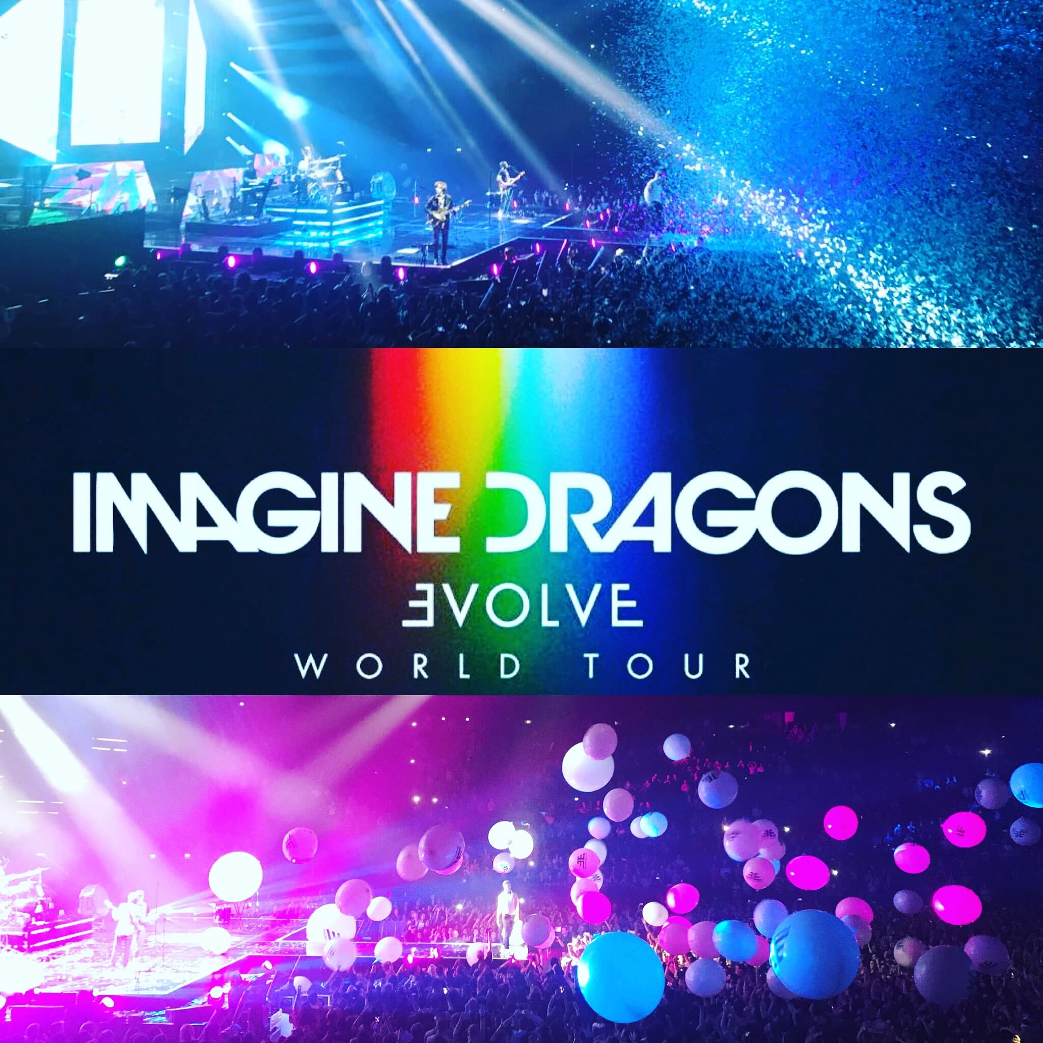 Imagine Dragons image concert AccorHotels Arena Paris 04