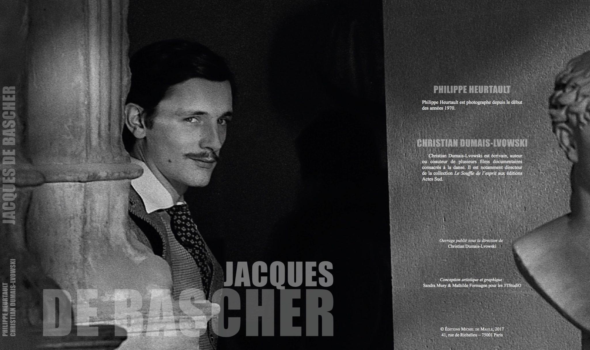 Jacques de Bascher, éloge de la chute de Philippe Heurtault & Christian Dumais-Lvowski image livre première de couverture et tranche