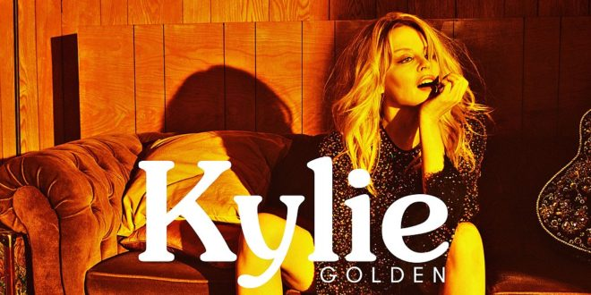 Kylie Minogue album cover GOLDEN image