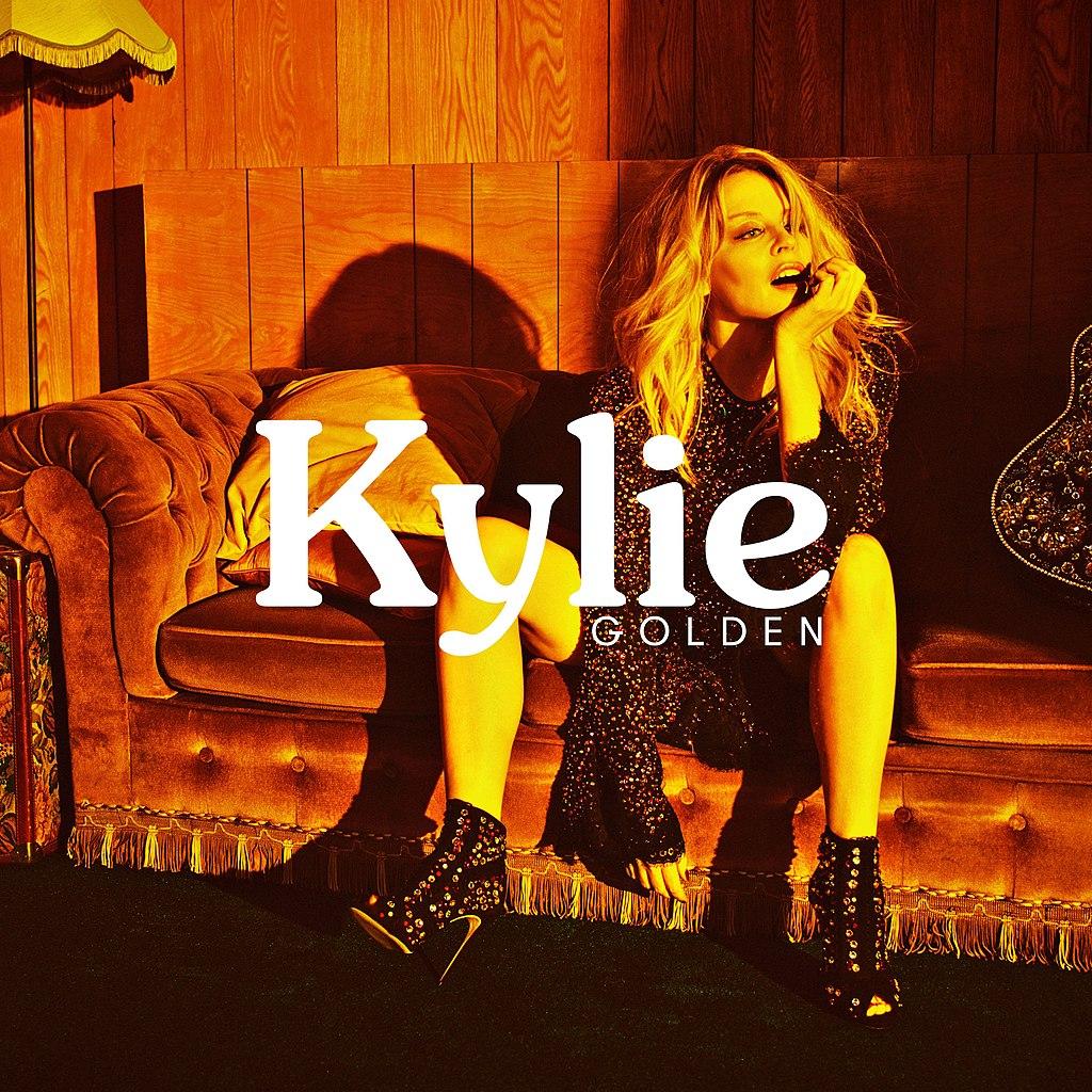 Kylie Minogue album cover GOLDEN image