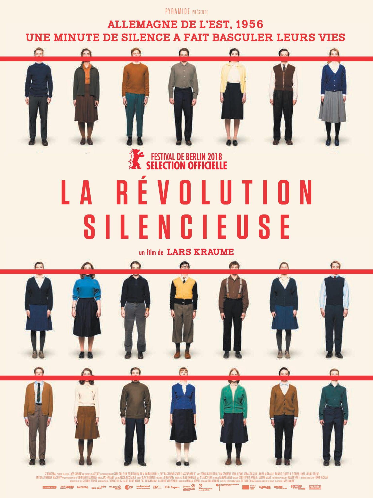 La Révolution silencieuse de Lars Kraume affiche