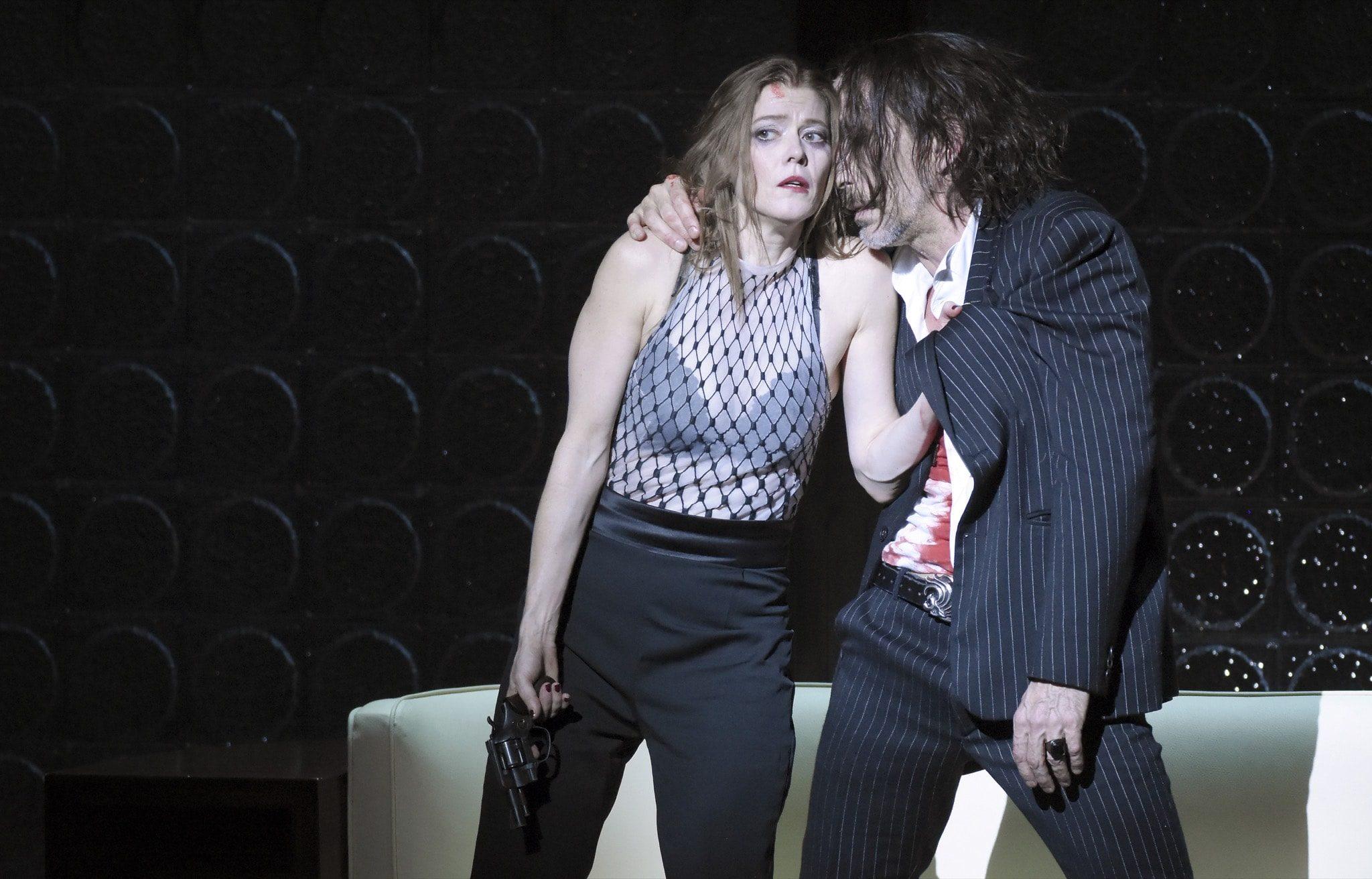 La Voix humaine de Krzysztof Warlikowsk Opéra de Paris image