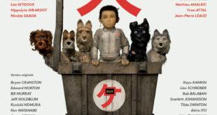 L'île aux chiens de Wes Anderson image affiche
