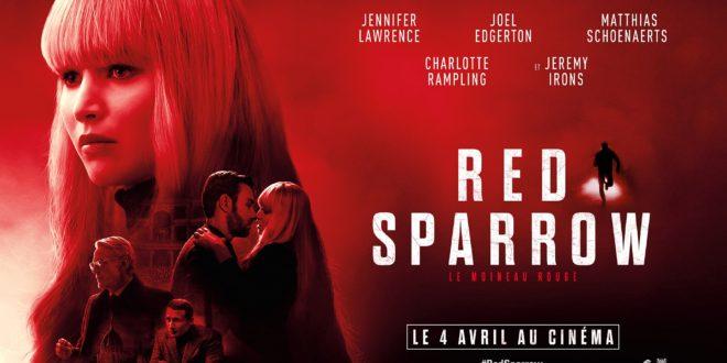 Red Sparrow de Francis Lawrence affiche