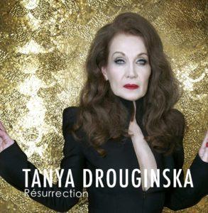Tanya Drouginska image pochette cover album Résurrection