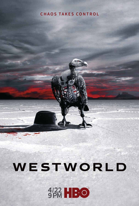 Westworld saison 2 affiche