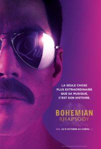 Bohemian Rhapsody de Dexter Fletcher affiche teaser