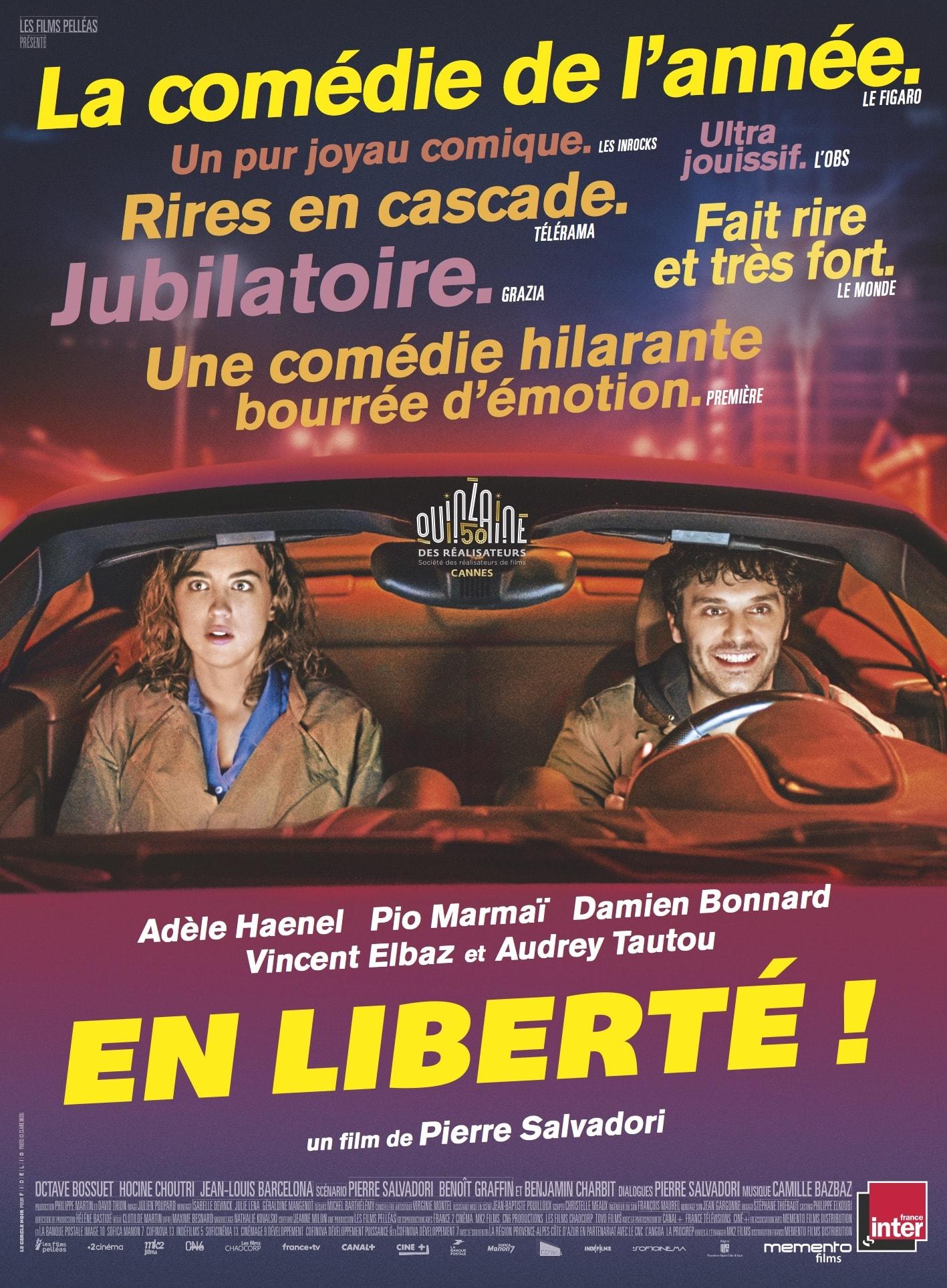 En liberté ! de Pierre Salvadori affiche film