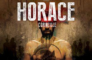 Horace par la Compagnie Thomas Visonneau afficge