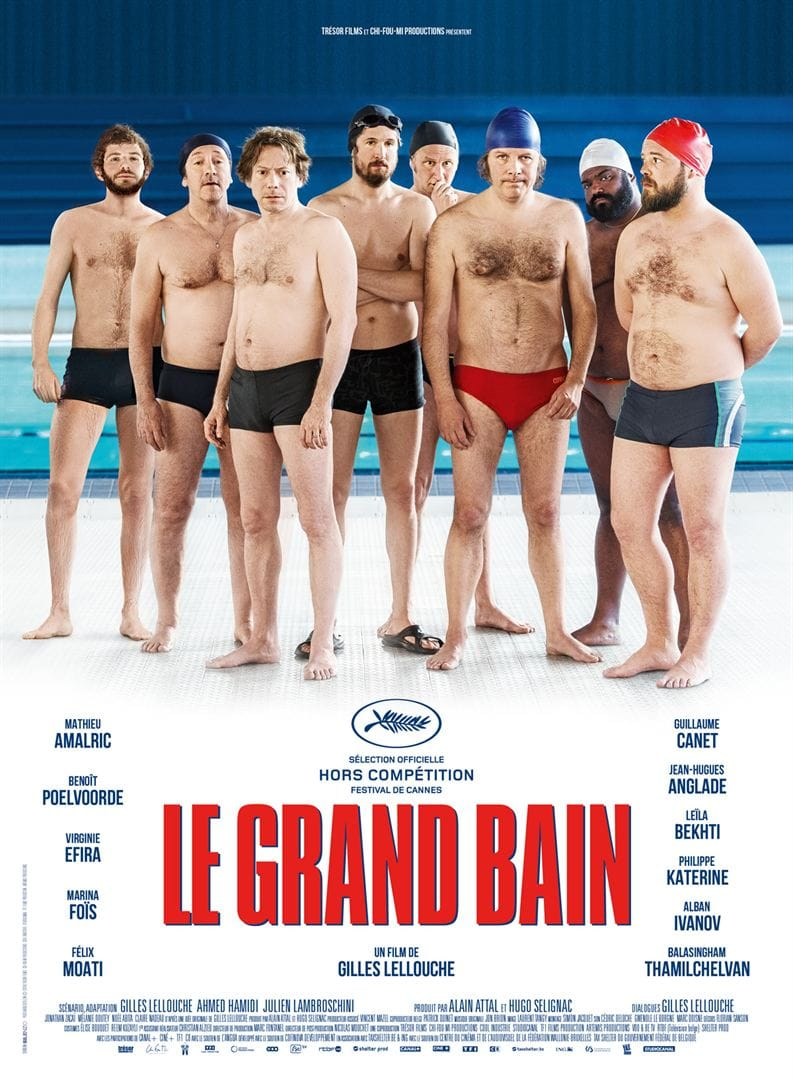 Le Grand Bain de Gilles Lellouche affiche film