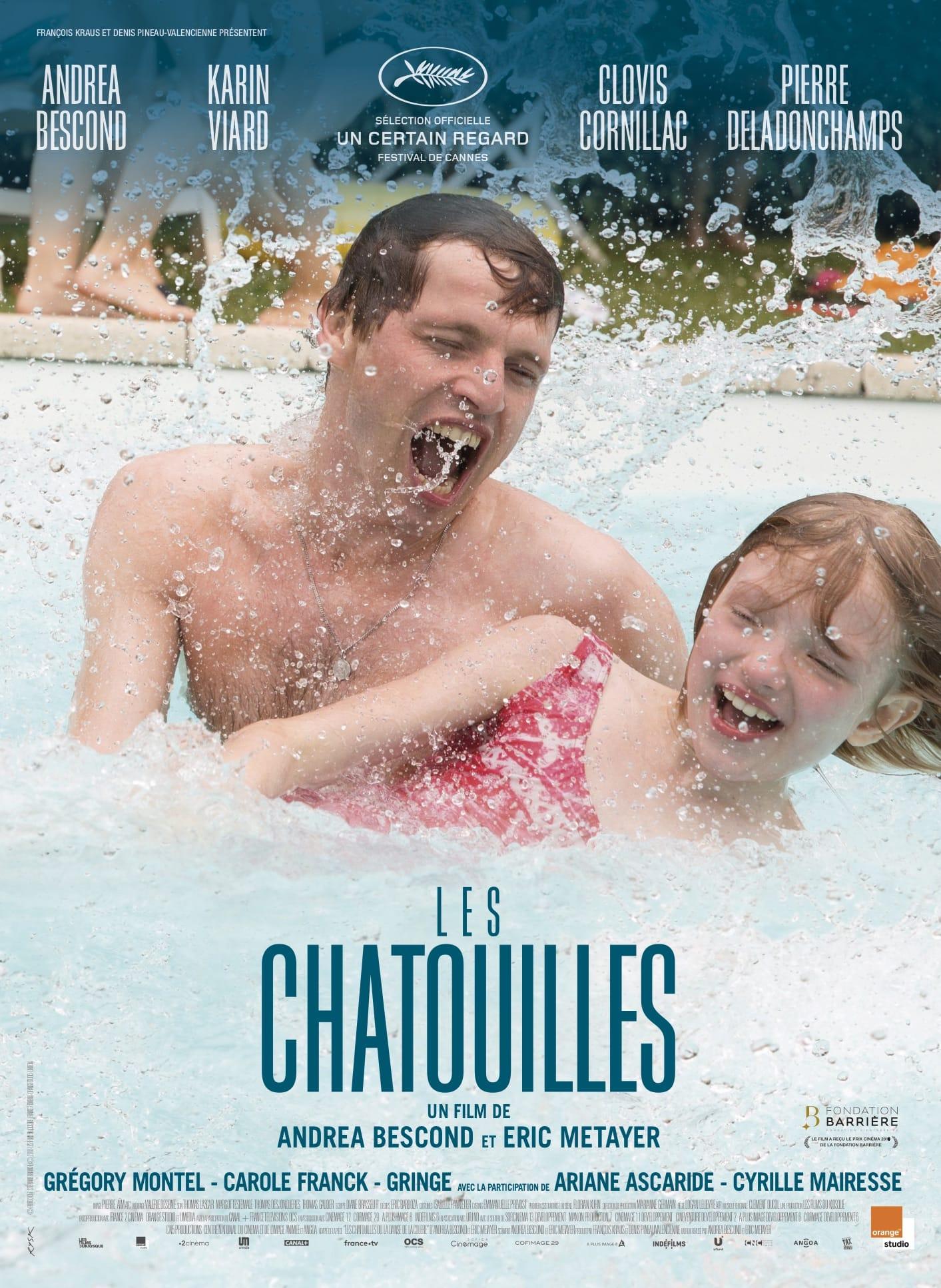 Les Chatouilles d'Andréa Bescond et Eric Métayer affiche film cinéma