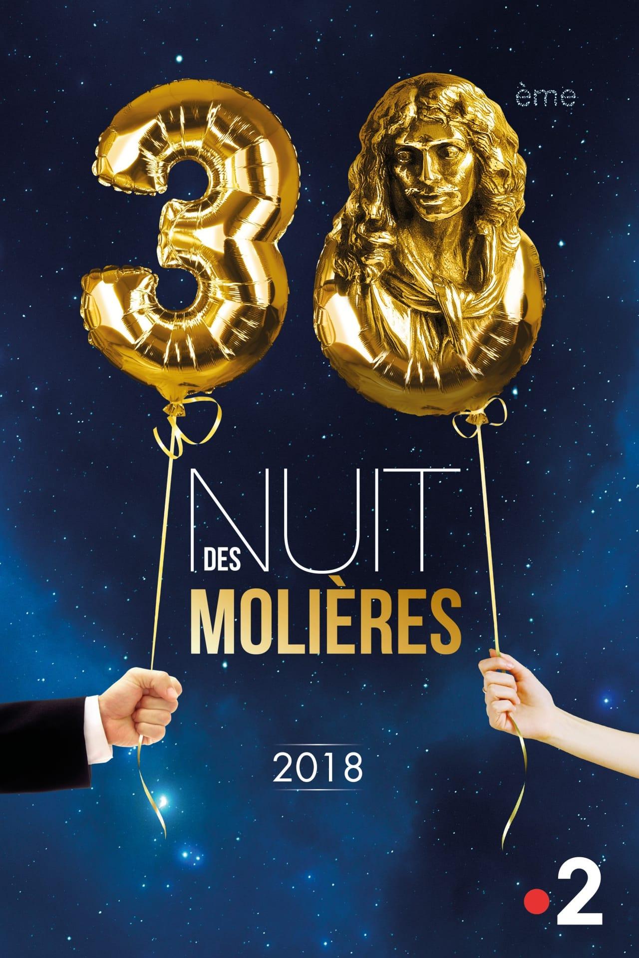 Les Molieres 2018 affiche
