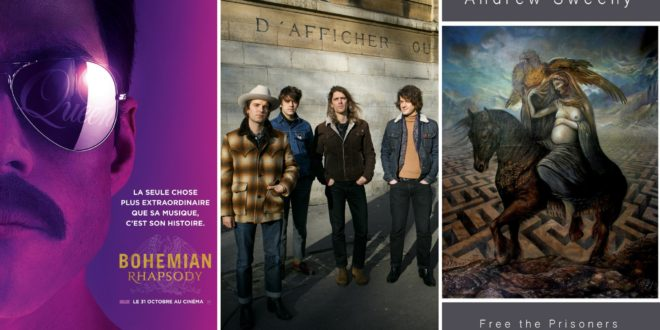 Playlist musique #12 : Queen, Theo Lawrence & The Hearts, Andrew Sweeny 1 image