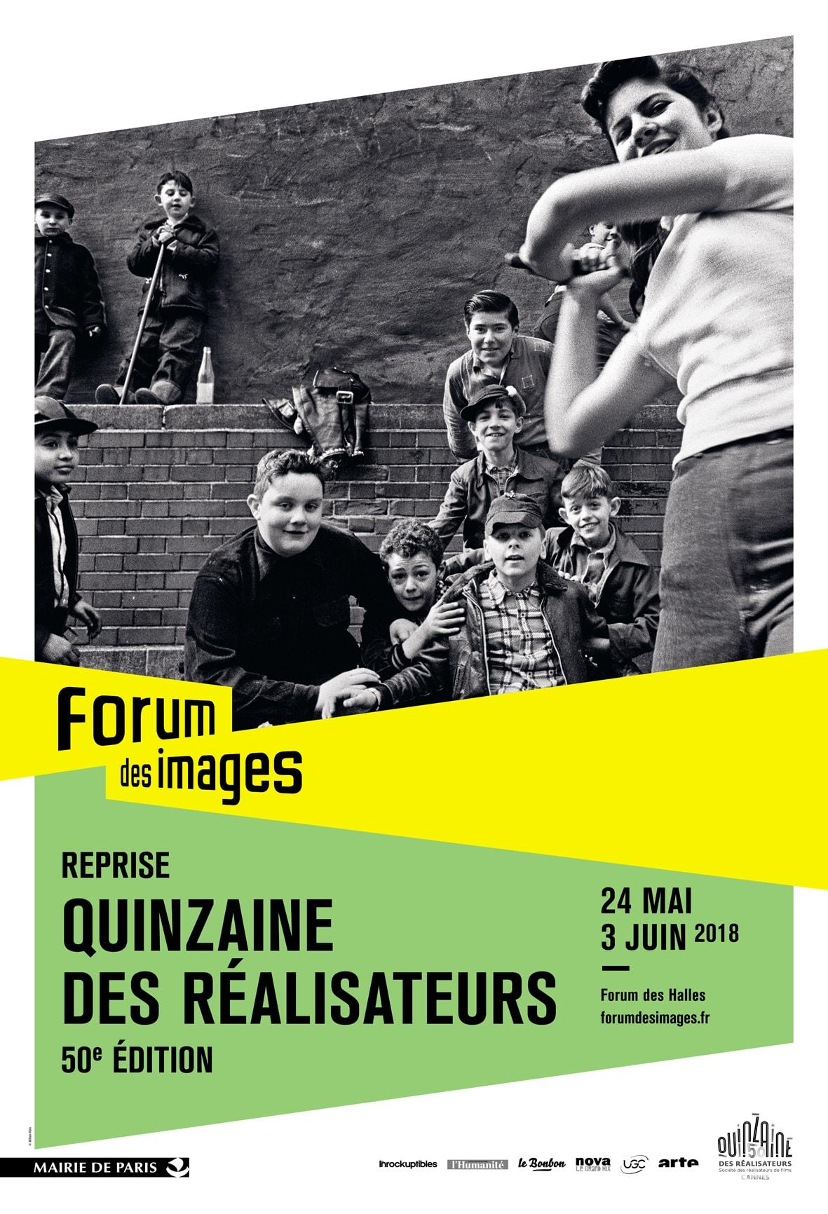 Reprise de la Quinzaine des Réalisateurs 2018 au Forum des Images du 24 mai au 3 juin 2018